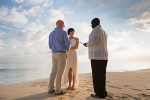 Destination wedding on the beach in Eleuthera, The Bahamas