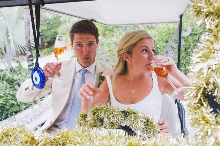 coral sands wedding reception