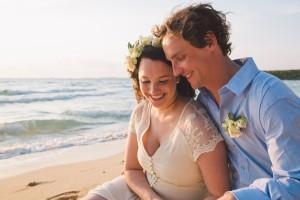 Ten Bay Beach, Eleuthera. Wedding Photography by Erik Kruthoff