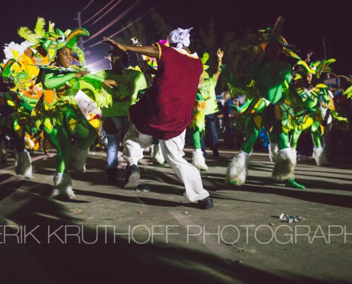 Junkanoo dancer