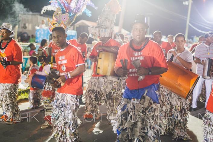 Junkanoo Parade in Eleuthera, Bahamas