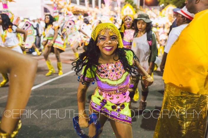 woman free dancer of 2016 new years day saxons junkanoo parade bahamas