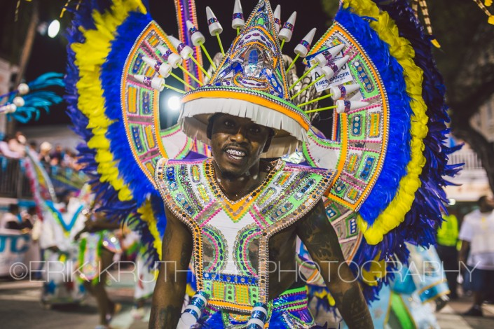 photography of a dancer in the 2016 new years day saxons junkanoo parade bahamas