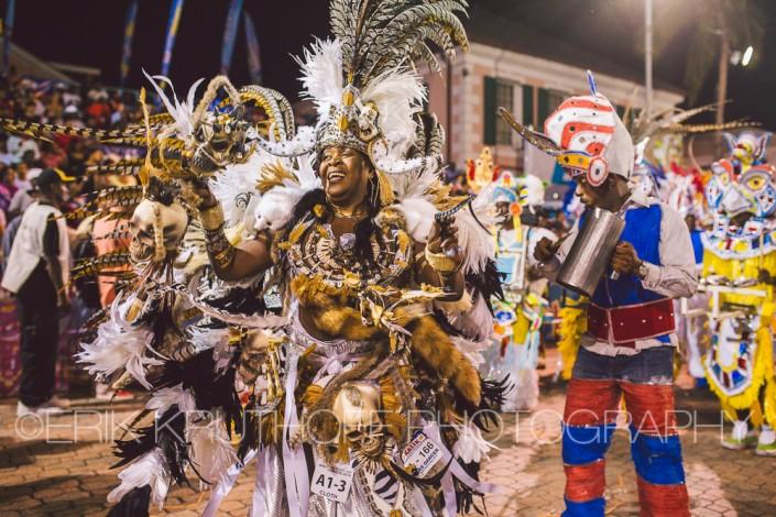 elaborate junkanoo hand made costume is a good representation of bahamas culture