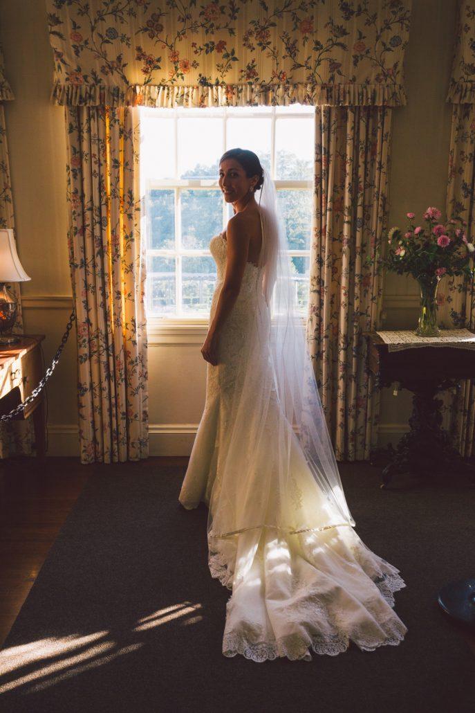 hildene wedding bride photograph