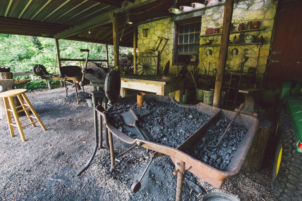 Shake Rag Alley blacksmith