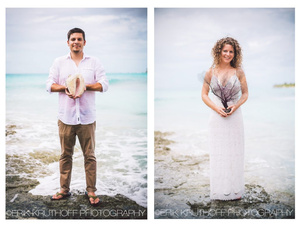 Eleuthera Bahamas beach destination wedding photography