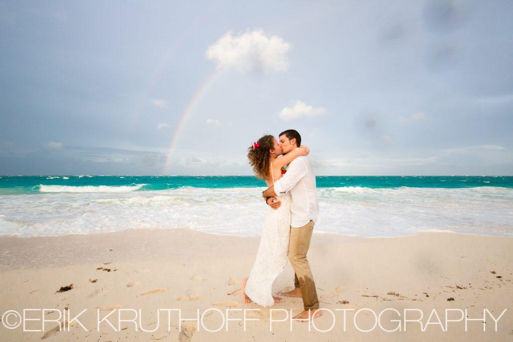 rainbow beach wedding