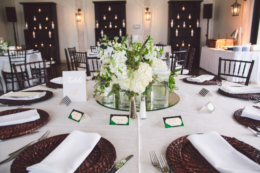oceans edge atlantis reception table