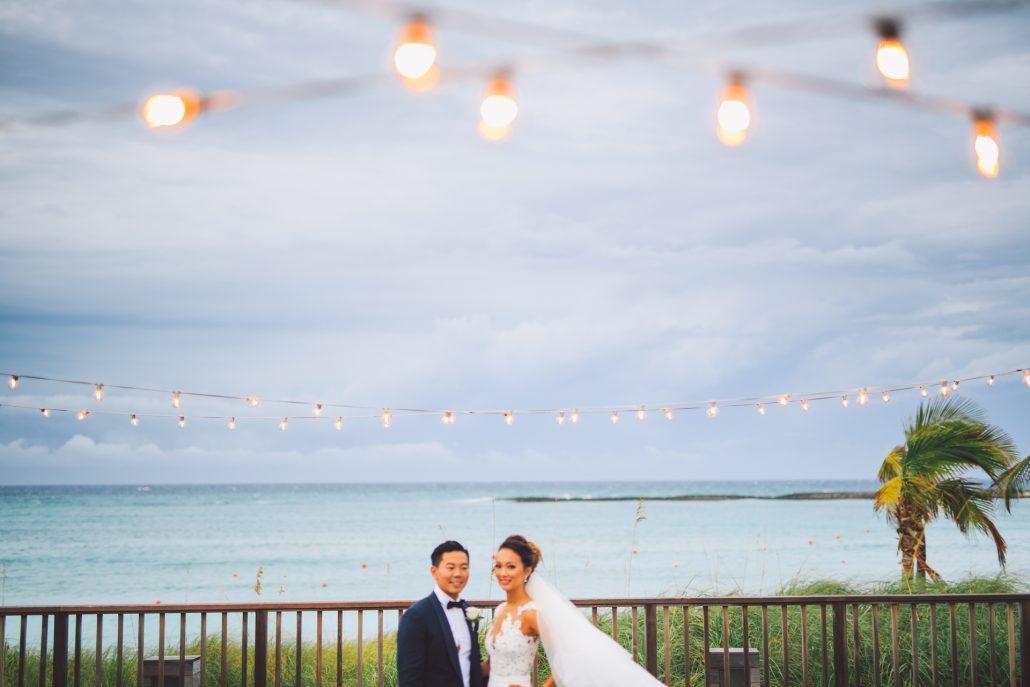 wedding at oceans edge at atlantis paradise island