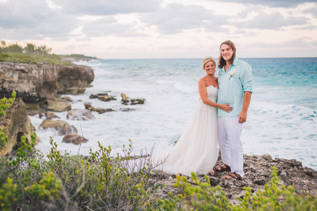 Bahamas destination wedding photo