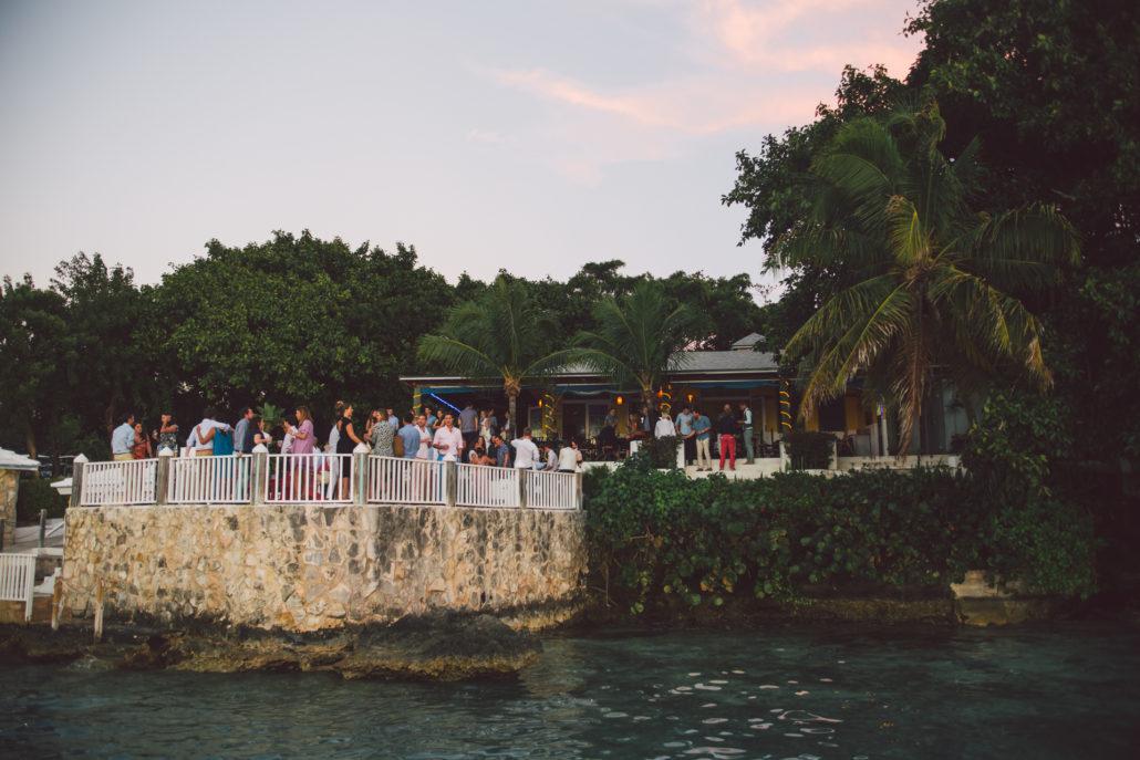 Aquapazza Harbour Island wedding welcome dinner