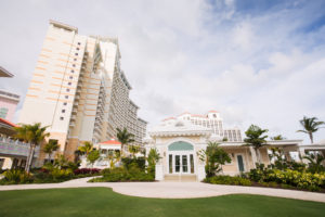 wedding chapel at Baha Mar Bahamas