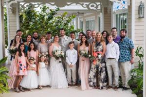 wedding family portrait baha mar bahamas
