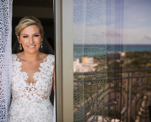 hyatt Baha Mar wedding bride