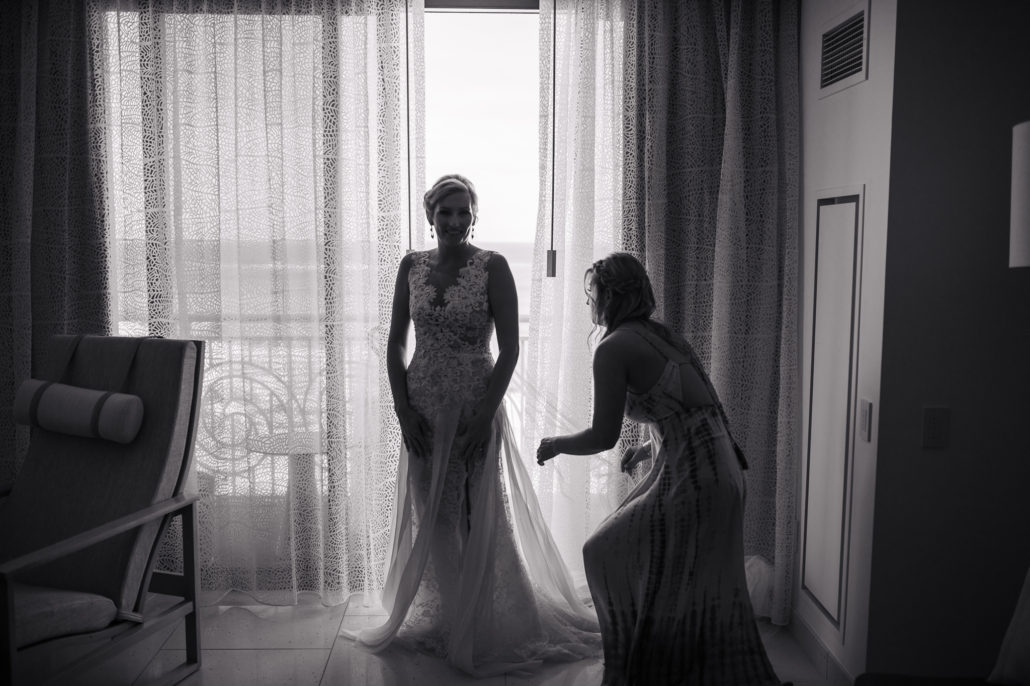 Baha Mar wedding bride