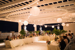 Baha Mar 25th Floor Terrace Wedding Reception