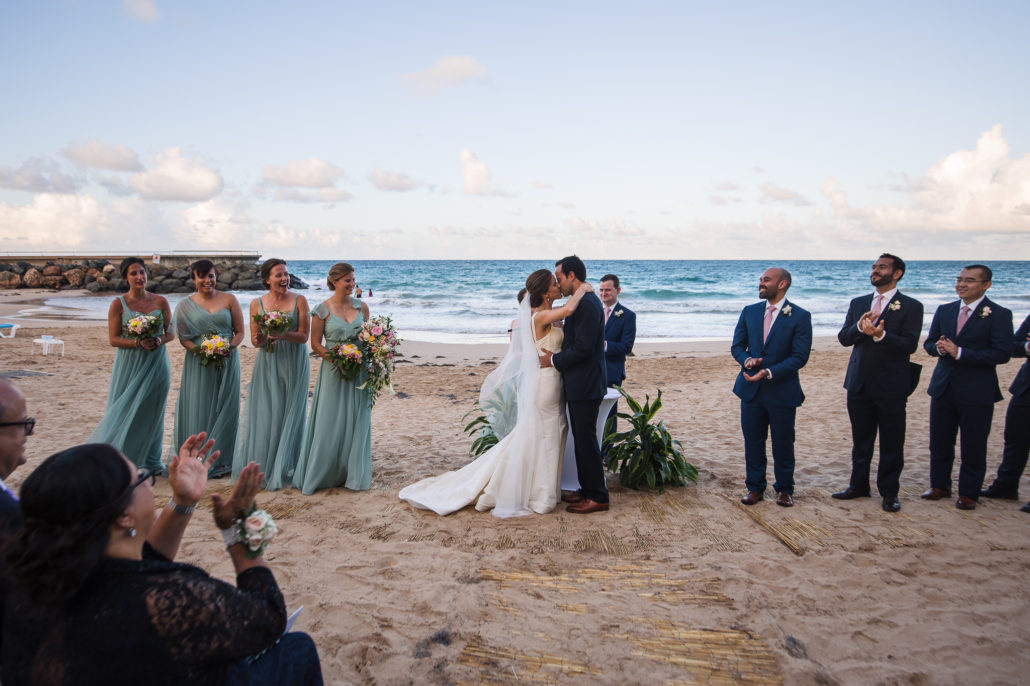 Condado beach wedding