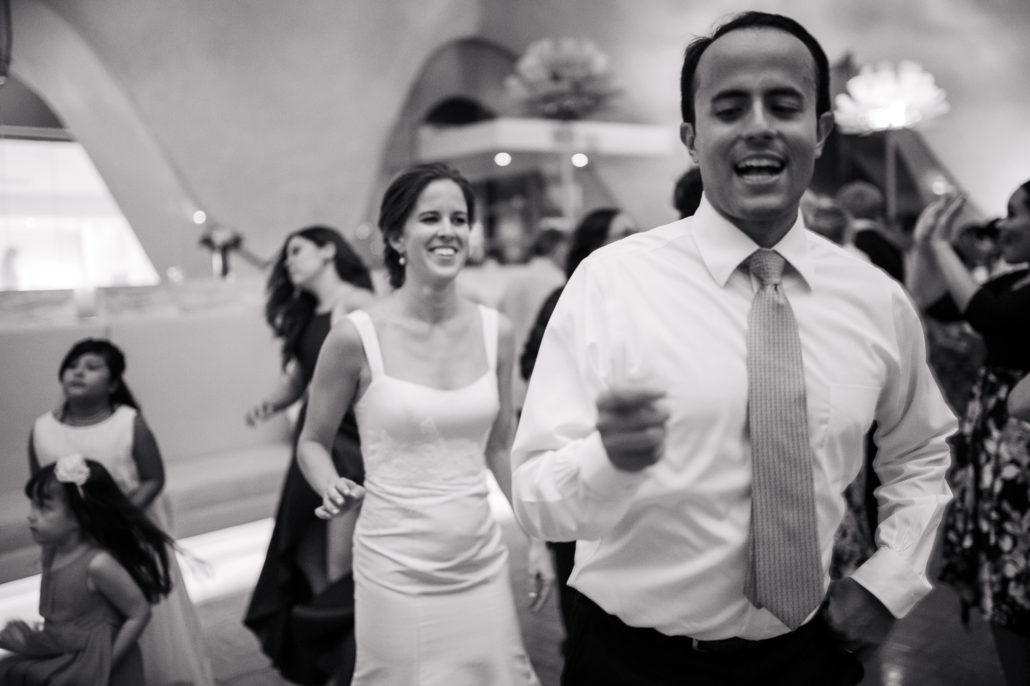 La perla wedding reception