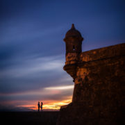 Old San Juan wedding portrait by Erik Kruthoff Photography