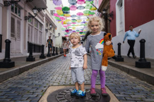brother ans sister in old san juan
