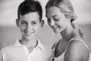 brother ans sister portrait photograph