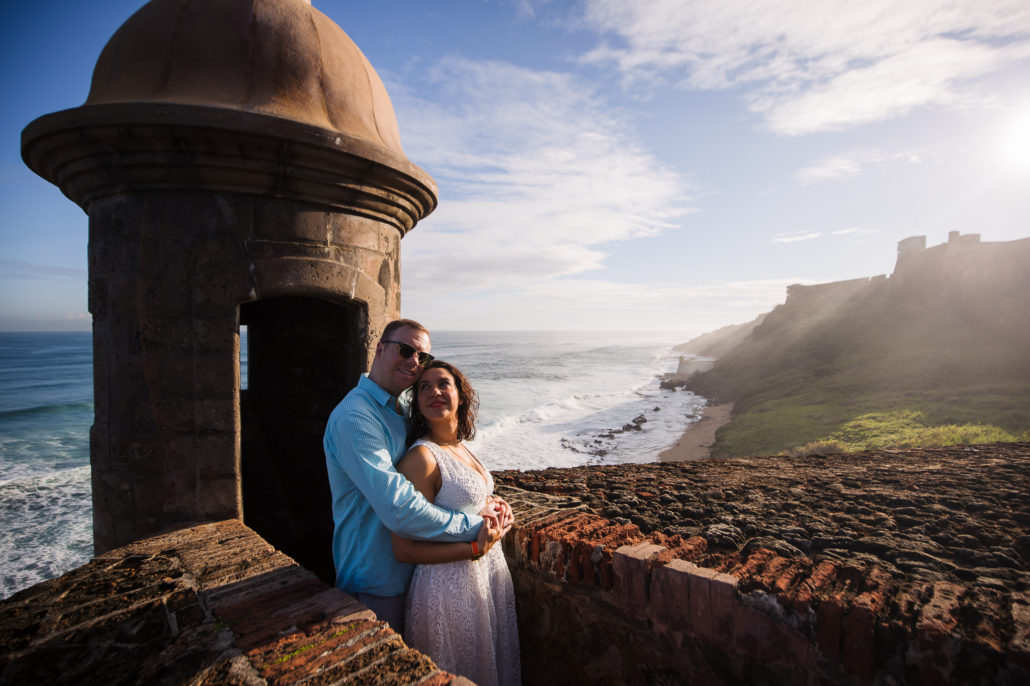 Wedding portrait photography in Old San Juan by Erik Kruthoff