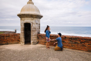 old san juan wedding proposal