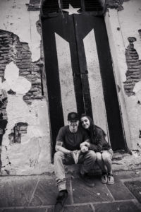 old san juan wedding engagement photography