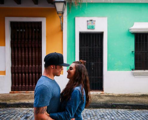 puerto rico wedding engagement photography