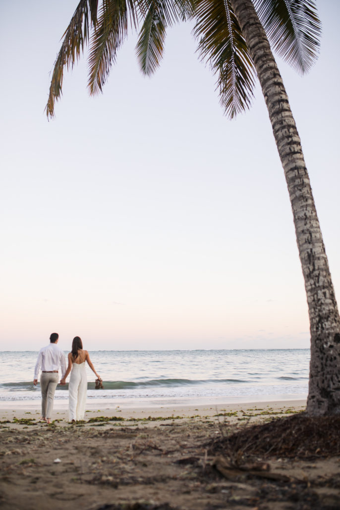 bride and groom Dorado Beach puerto rico wedding