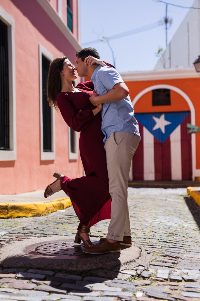old san juan engagement photos