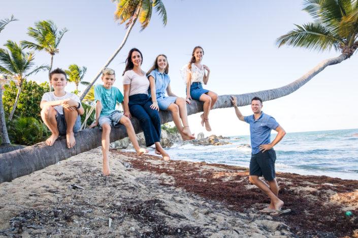 palmas del mar family photo session