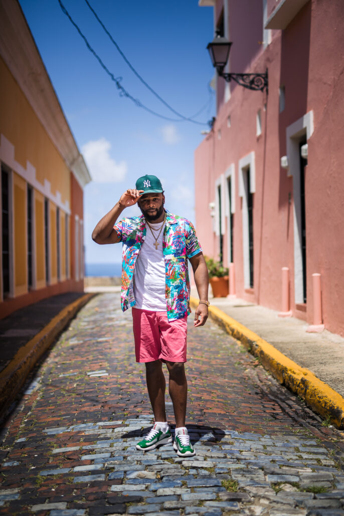 Old San Juan photoshoot