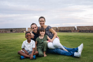 old san juan family photo session