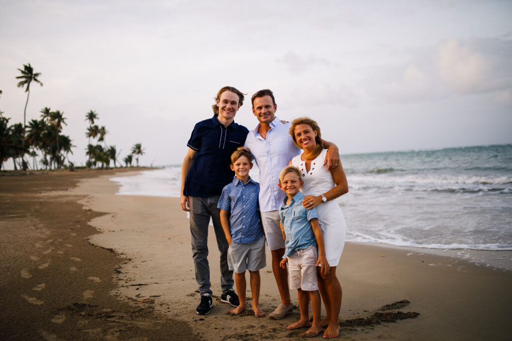 Family photos at Bahia St. Regis Puerto Rico by Erik Kruthoff Photography
