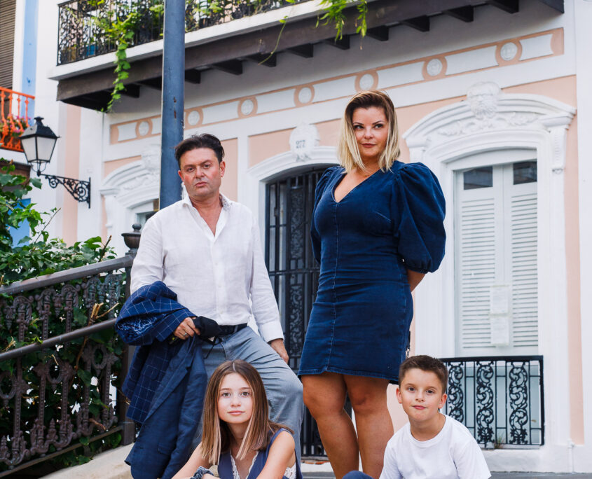 professional family portraits in old san juan puerto rico
