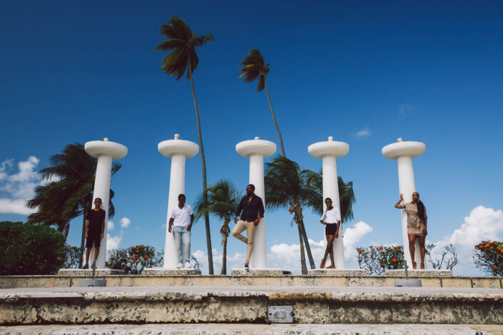 professional family photoshoot at Hyatt Regency Grand Reserve, Puerto Rico