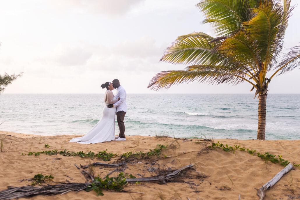 beach elopement ceremony