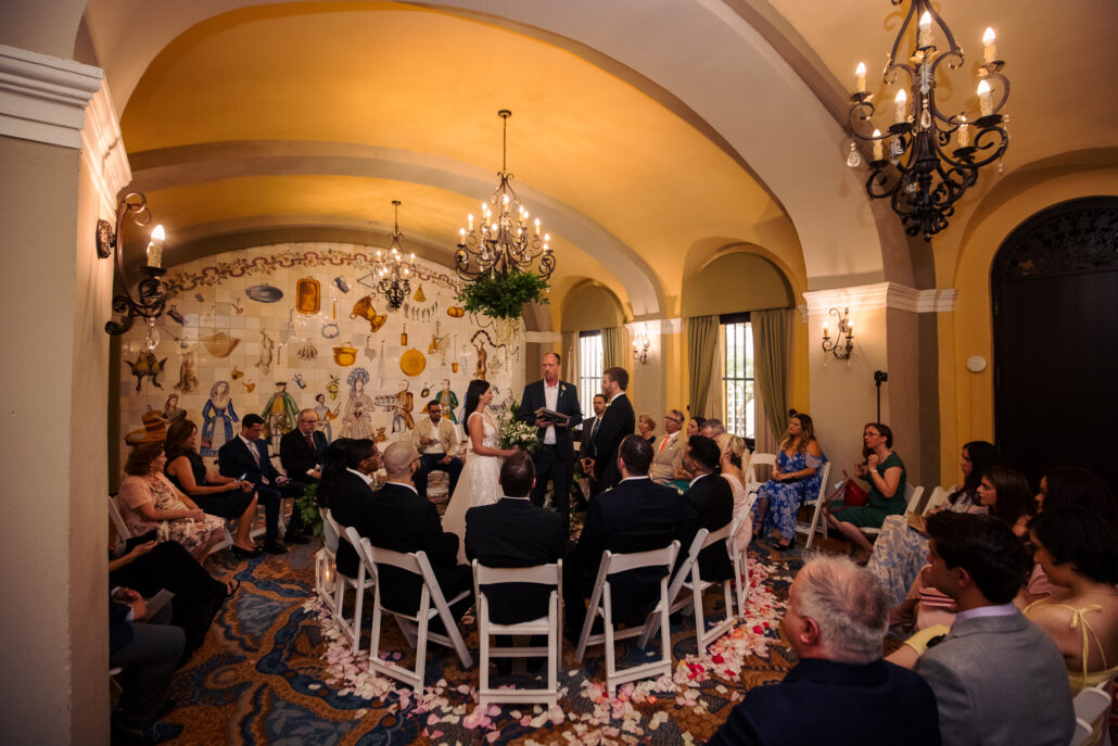 hotel el convento wedding ceremony
